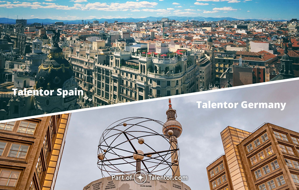Talentor spain germany